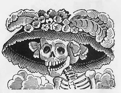 O Dia de los Muertos e a Caveira Mexicana